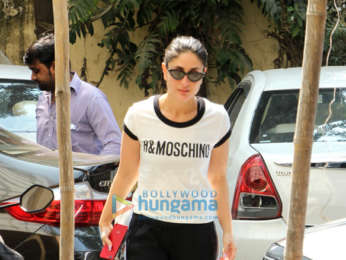 Kareena Kapoor Khan and Malaika Arora snapped at the gym
