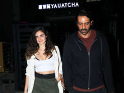 SPOTTED Arjun Rampal with Gabriella Demetiades @ Yauatcha