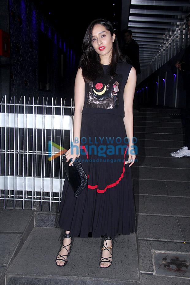 Shraddha Kapoor in Reem Acra for a birthday bash (2)
