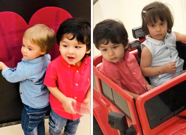 Taimur Ali Khan, Yash Johar, kids of Kareena Kapoor Khan and Karan Johar, enjoy a play date and it is adorable!