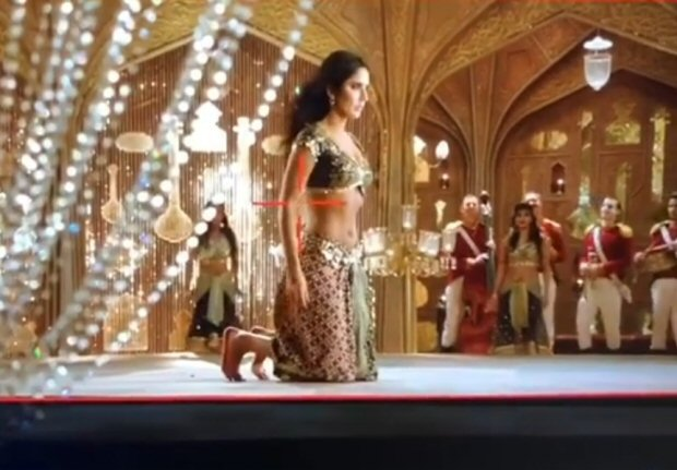 WATCH Katrina Kaif struggles with this dance step during 'Suraiyya' shoot in Thugs Of Hindostan