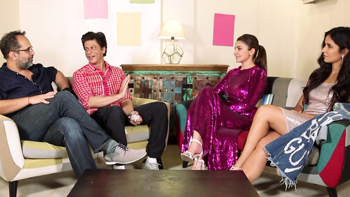 Zero stars SRK, Anushka Sharma & Katrina Kaif reveal their favorite characters from the film