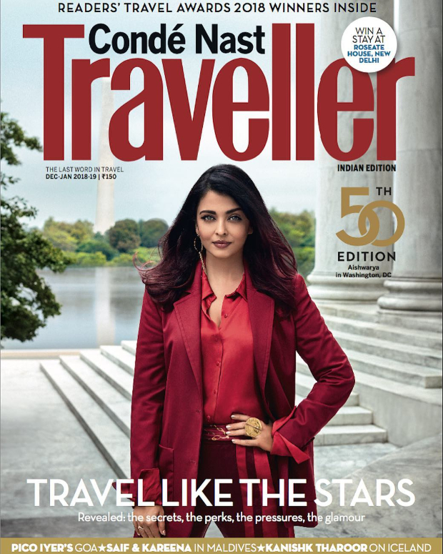 Aishwarya Rai Bachchan divulges a SECRET about travelling and we know it!