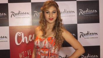 Bigboss Contestant Jasleen Matharu at Anniversary Celebration of Radisson Hotel Mumbai