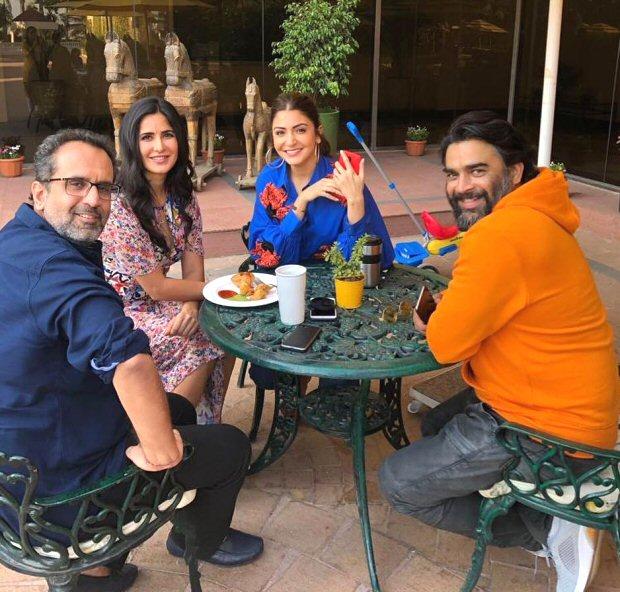 'conversations And Samosas' For Katrina Kaif, Anushka Sharma, Aanand L Rai And R Madhavan Sans Shah Rukh Khan