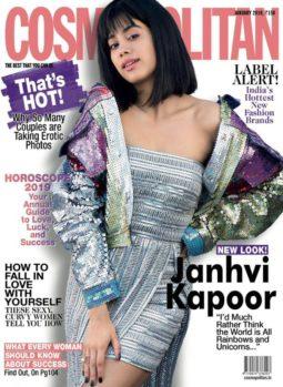 Janhvi Kapoor On The Cover Of Cosmopolitan