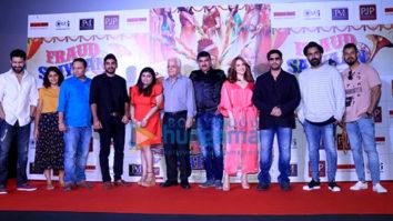 Elli AvrRam and Arshad Warsi at the song launch of 'Chamma Chamma' from 'Fraud Saiyaan'
