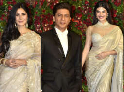 FULL Shah Rukh Khan, Katrina Kaif, Jacqueline Fernandez & others at Deepveer Wedding Reception