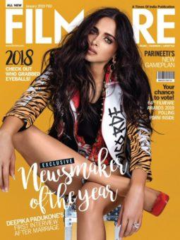 Deepika Padukone On The Cover Of Filmfare