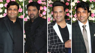 Full cast of The Kapil Sharma Show at Kapil and Ginni's Wedding Reception