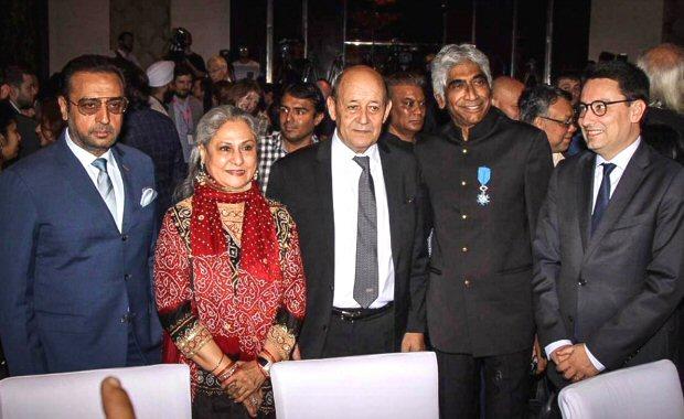Jaya Bachchan, Gulshan Grover, Kalki Koechlin snapped along with Maharashtra CM at the 2nd Indo-French Professional Meet