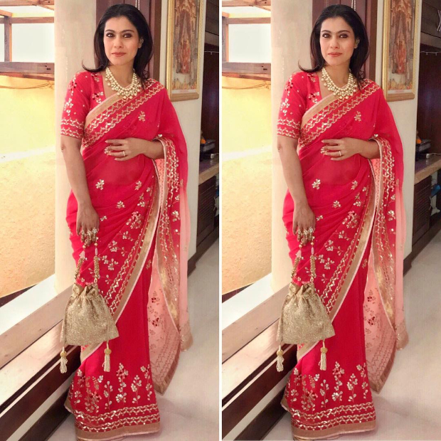 Kajol Devgan Keeps It Chic This Wedding Season With A Rs. 47,175 Saree!