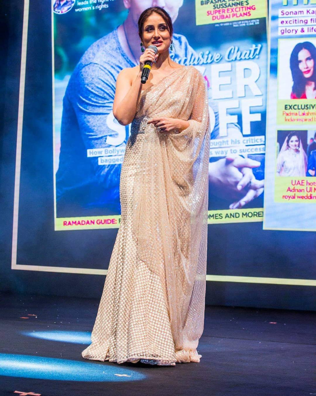 Slay or Nay: Kareena Kapoor Khan in Faraz Manan for the Masala Awards 2018 in Dubai
