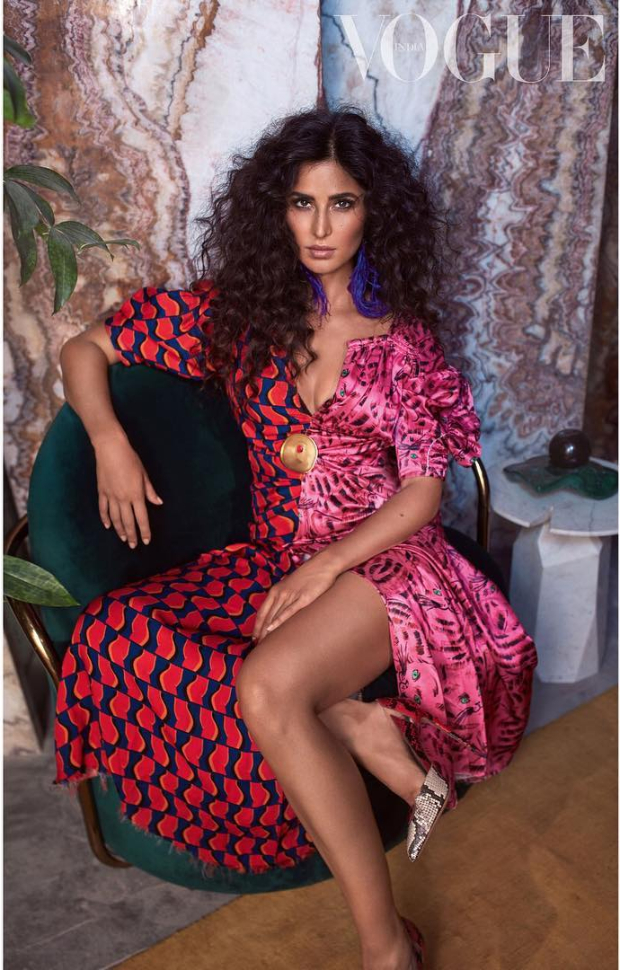 She is SEXY and she knows it! Katrina Kaif excels at the subtle art of HOTNESS in this Vogue photoshoot!