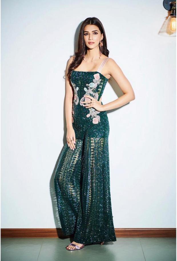 Slay Or Nay: Kriti Sanon In A Rs. 1,89,999 Monisha Jaising Jumpsuit For Salman Khan's Birthday Bash