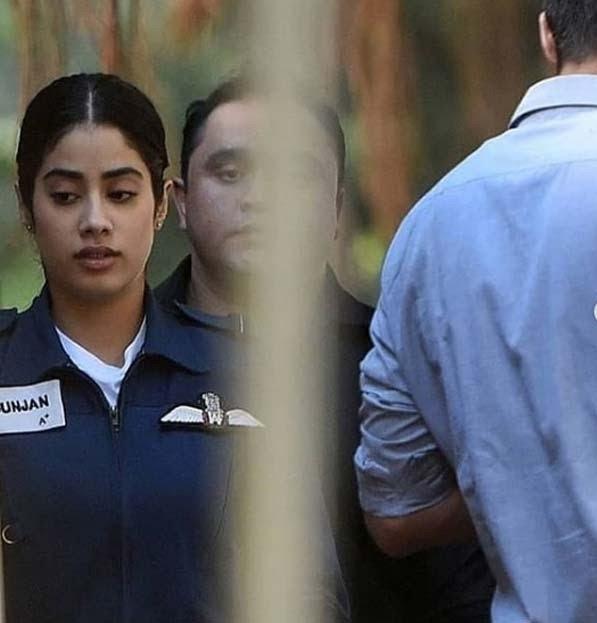 Leaked Photo! Janhvi Kapoor Transforms Into Combat Pilot For Gunjan Saxena Biopic
