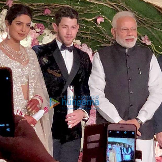 Priyanka Chopra - Nick Jonas Delhi Reception: Prime Minister Narendra Modi arrives to greet the newlyweds
