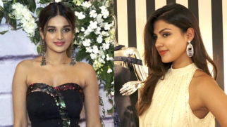 Rhea Chakraborty and Niddhi Agerwal at the launch of Rebecca Dewan's Nightingale Collection