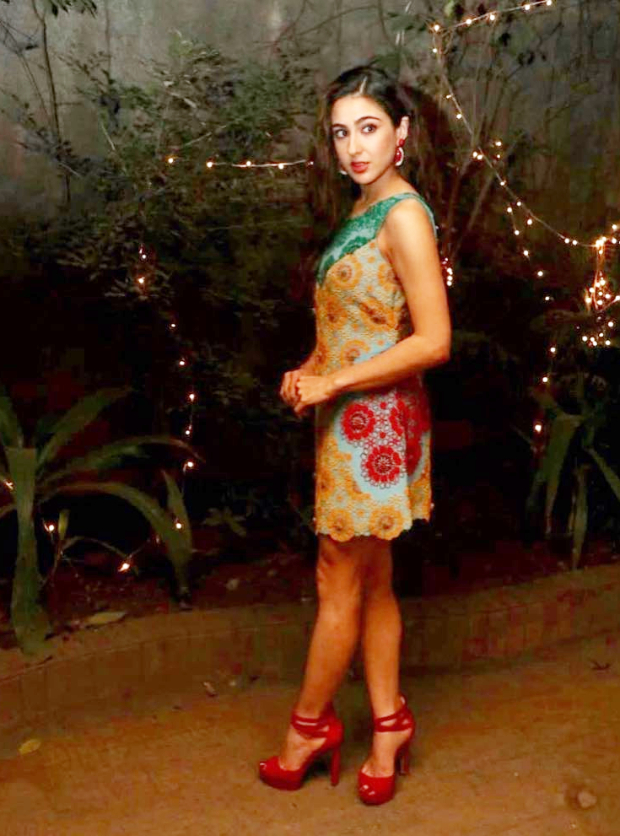 Slay Or Nay: Sara Ali Khan In Nupur Kanoi For Special Screening Of Simmba On Christmas Eve