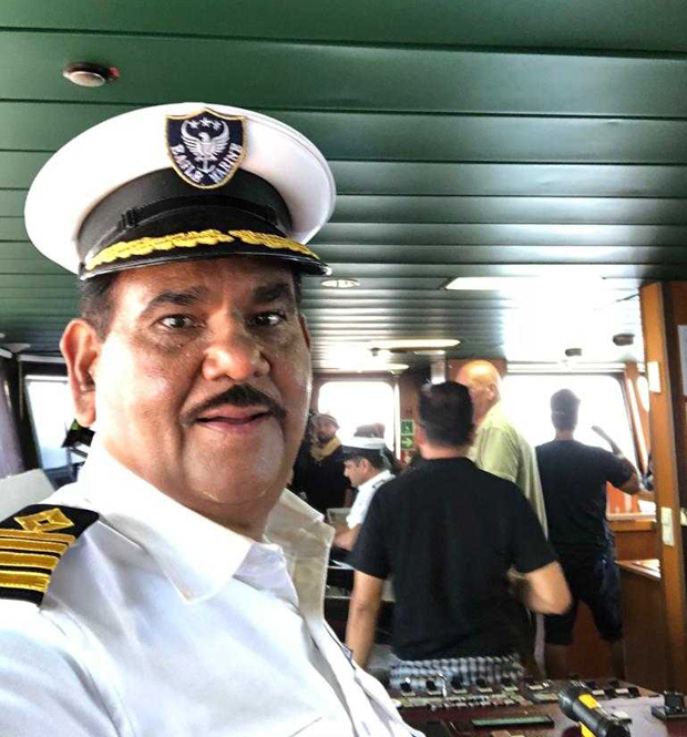 FIRST LOOK: Satish Kaushik turns navy officer for Bharat and here are the deets