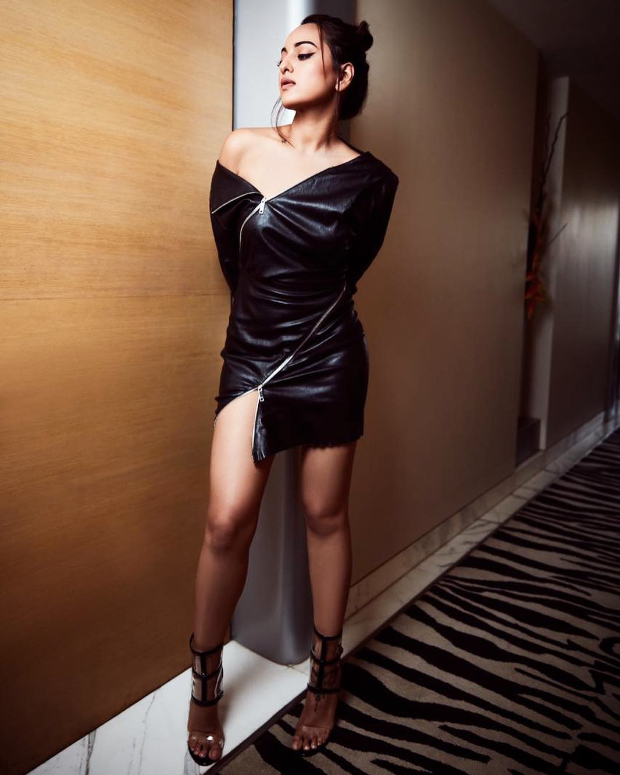 Slay Or Nay: Sonakshi Sinha In Jitrois Paris For A Photoshoot