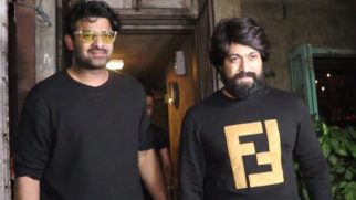 South actor Yash, Prabhas and Anil Thadani spotted at spotted at Pali Bhavan in Bandra