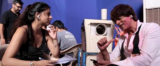 Zero: Suhana Khan helping dad Shah Rukh Khan recite lyrics of 'Mere Naam Tu' is absolutely adorable