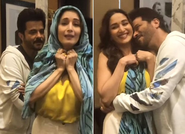 #30yearsoframlakhan: Madhuri Dixit And Anil Kapoor Relive Their Romance By Recreating 'bada Dukh Dina' And 'my Name Is Lakhan'