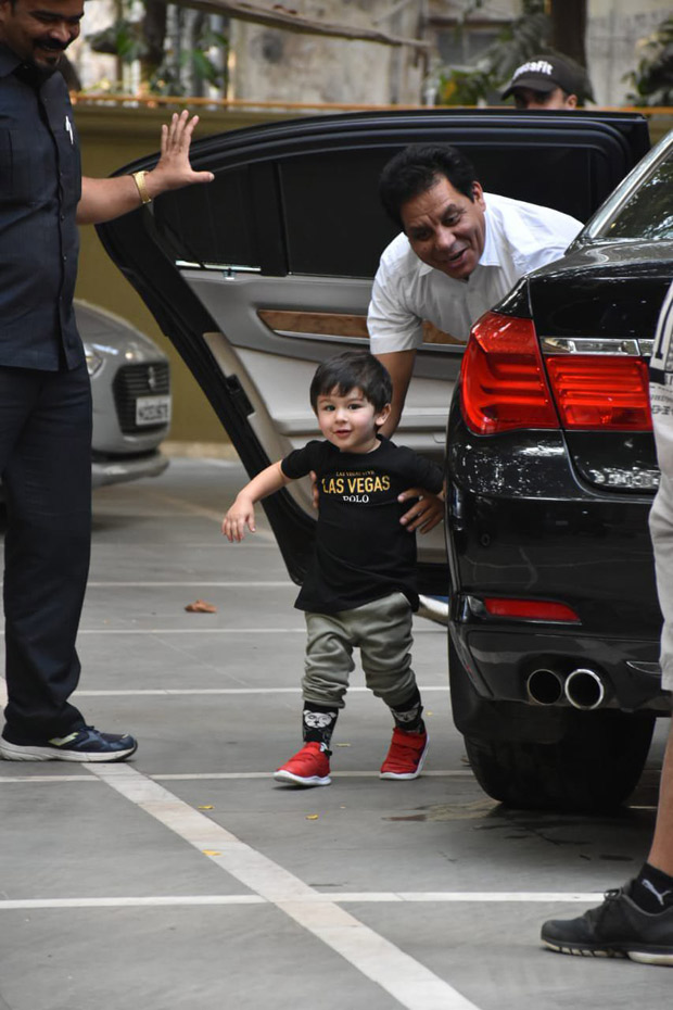 Aww! Taimur Ali Khan Is All Smiles For His Playdate And The Internet Is Gushing Over Him!