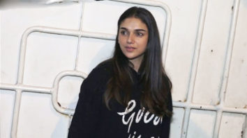 Aditi Rao Hydari attend screening of Tamil Film Sarvam Thaala Mayam