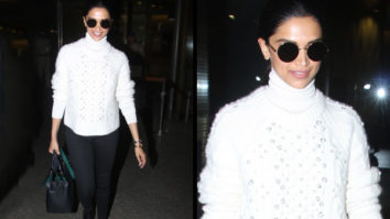 Airport Slay or Nay - Deepika Padukone monochrome style (Featured)
