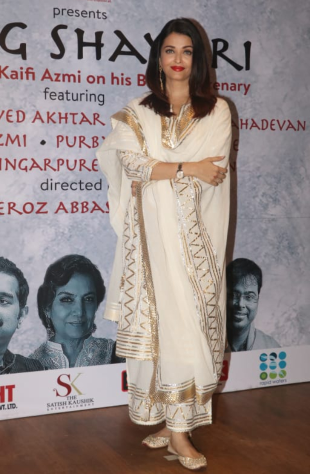 Slay Or Nay: Aishwarya Rai Bachchan In Sukriti And Aakriti At The Premiere Of Raag Shayari