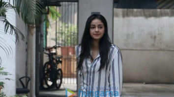 Ananya Pandey spotted at Maddock Films' office