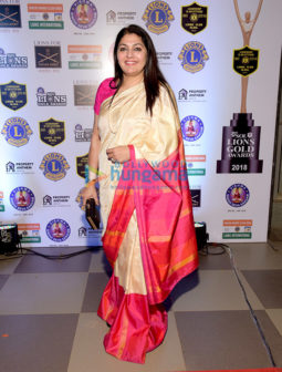 Celebs grace the 25th SOL Lions Gold Awards 2018