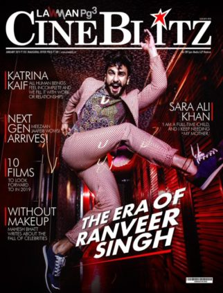 On The Cover Of Cine Blitz