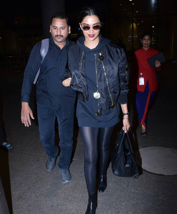 Airport Slay Or Nay: Deepika Padukone In Givenchy On Her Way Back From Paris