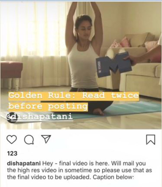 Disha Patani gets heavily TROLLED for her copy-paste error on Instagram