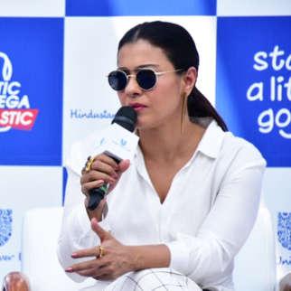 FULL Ajay Devgn and Kajol Devgn Kick-Start Little Good Campaign in Mumbai