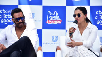 FULL Ajay Devgn and Kajol Devgn Kick-Start Little Good Campaign in Mumbai