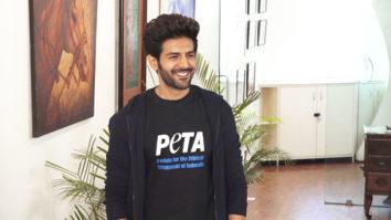 FULL Kartik Aaryan launches newest Vegetarian Campaign in support of Peta
