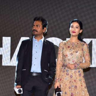 Film Thackeray Music Launch Nawazuddin Siddiqui Amrita Rao Uddhav Thackeray Aditya Thackeray