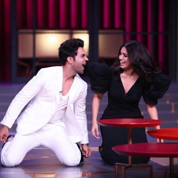Image result for rajkummar bhumi koffee with karan