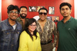 GOVINDA makes GRAND ENTRY at Hungama Office Pahlaj Nihalani Mishika Chourasia