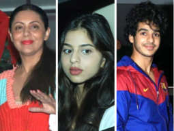 Gauri Khan, Suhana Khan, Ishaan Khatter and others SPOTTED AT Soho House with Family