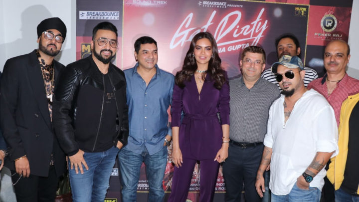 'Get Dirty' Song Launch with Esha Gupta, Raj Kundra and many others