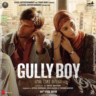 First Look Of The Movie Gully Boy