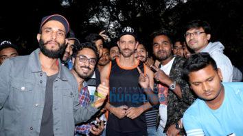 Hrithik Roshan celebrates birthday with fans