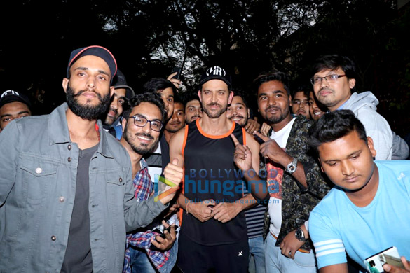 Hrithik Roshan celebrates birthday with fans