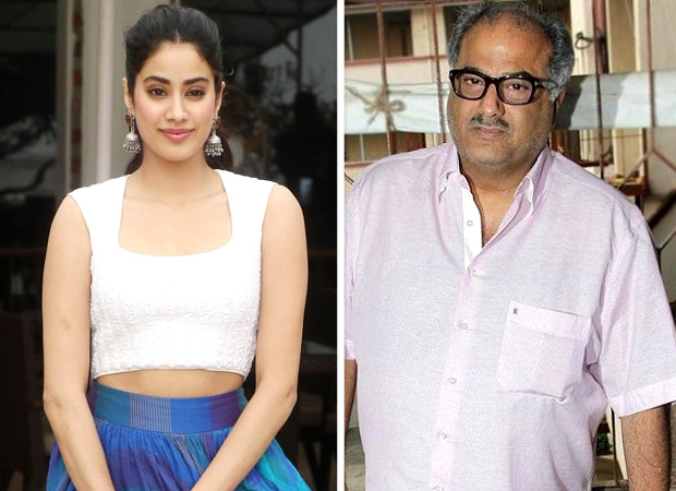 Janhvi Kapoor's dad Boney Kapoor is WORRIED about her one particular addiction