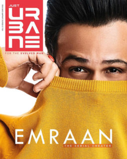 Emraan Hashmi on the cover of Just Urbane, Jan 2019